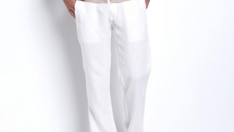 pantalon lin blanc homme pantalon homme couleur camel. Black Bedroom Furniture Sets. Home Design Ideas