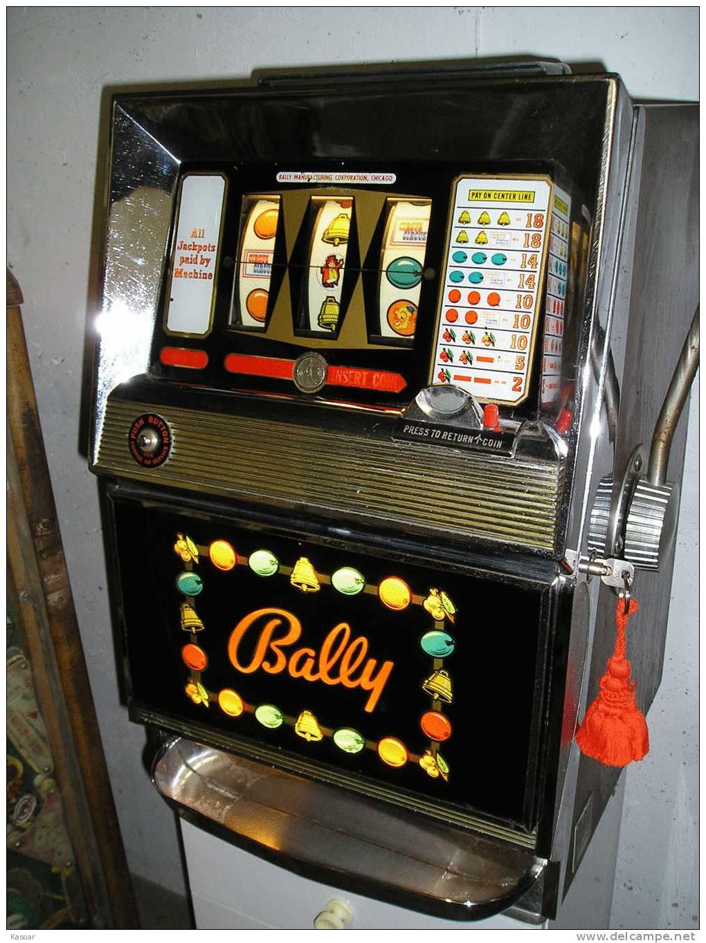 1982 Bally Slot Machine