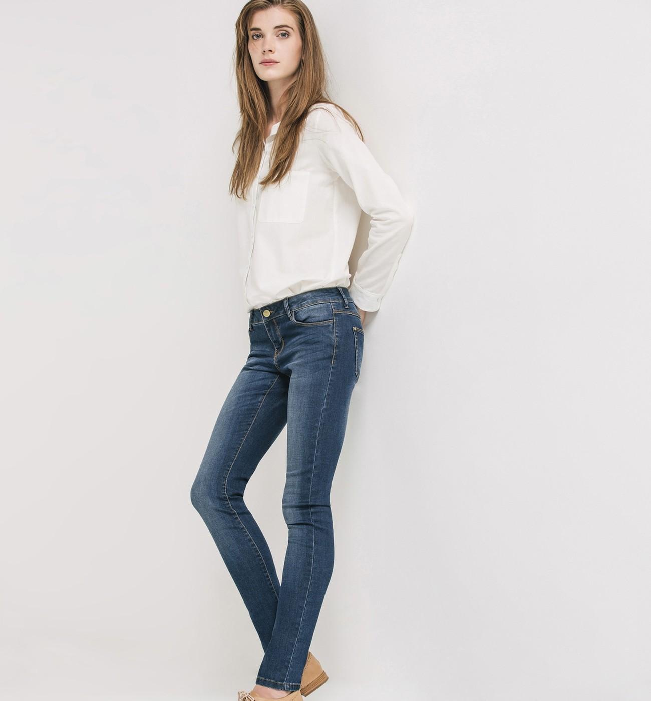 J'achète mes jeans en soldes