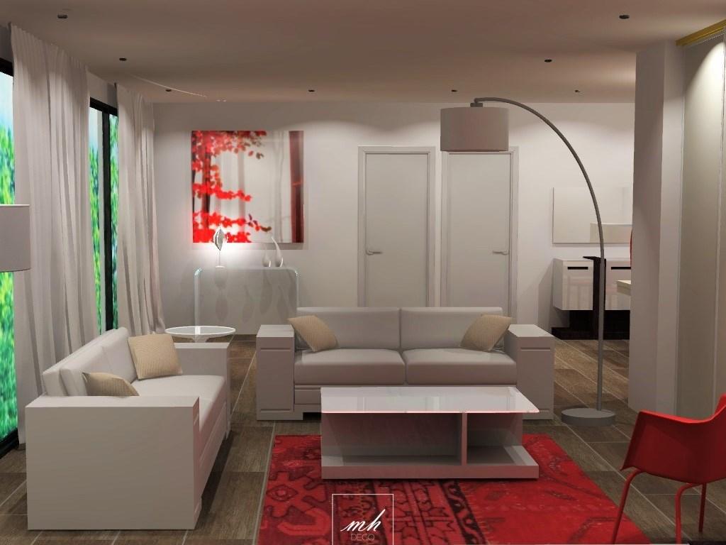 Un tout nouvel espace de rangement pour moi - Amenagement salon contemporain ...